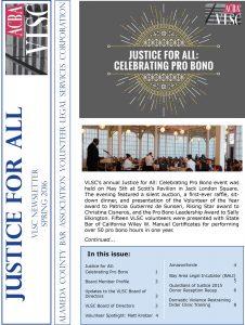VLSC Spring 2016 Newsletter Image